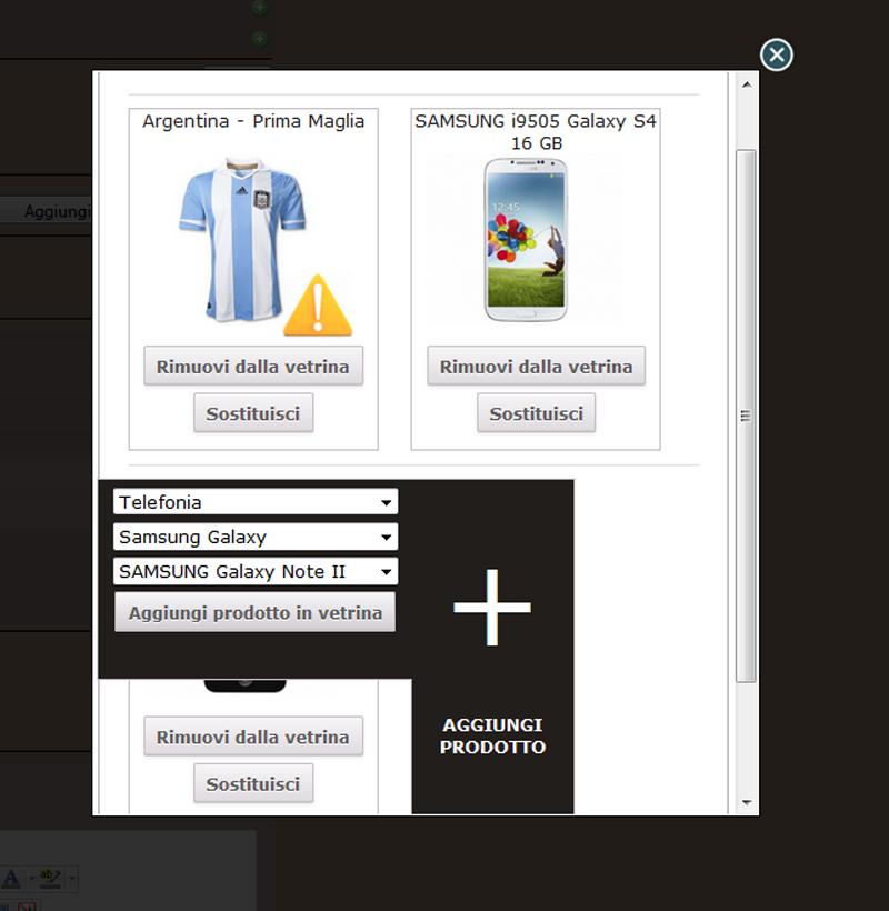 Nuova funzione Vetrina Homepage